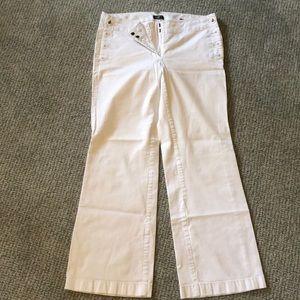 Loft White Sailor Trouser